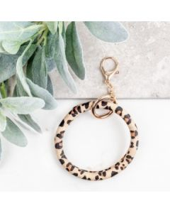 Leopard Key Ring Bangle