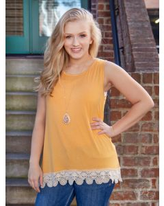 Over the Moon Tank-Medium-Mustard