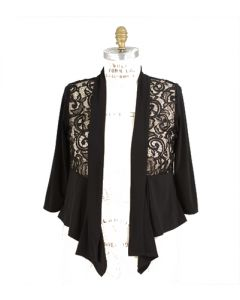 Lace Inset Shrug