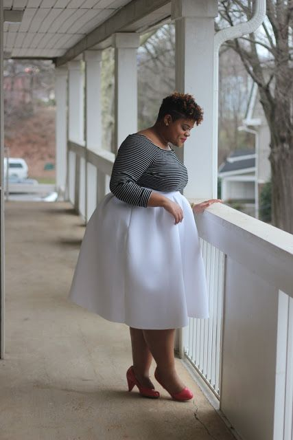 Curvy Confidence: Styling the Box Pleat Midi
